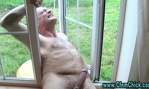 Cfnm strumpets ejaculation jerking weenie