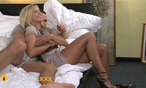 Orgasms excellent youthful golden-haired can't live without riding to agonorgasmos