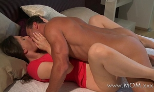 Mom spouse and hotwife make love in the morning