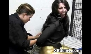 Bdsm makeout for taut gal