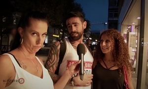 Hitzefrei large tit redhead screwed by stranger