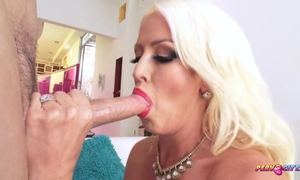 Thick XXX mature with massive tits and ass gets anal