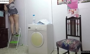 Working at home with miniskirt, u know what happens.jav247