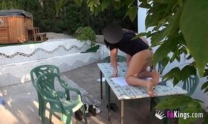 English teacher fuck her student in mallorca