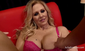 Milf julia ann can't live without to engulf penis!