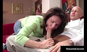 Naughty amateur wife deauxma receives free advice for sex from tax fellow!