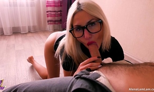 Horny milf blowjob her neighbour, 4k (ultra hd) - alena lamlam
