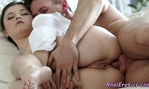 Gorgeous fucked right into an asshole eurobabe enjoys hard dong