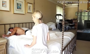 Spyfam step daughter piper perri fuck and creampie for stealing mamas sex-toy