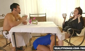 Realitykings - mammas group sex teenies - bambino hailey little sara st clair - morning joe