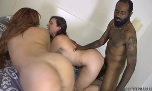 Very sexy milf's interracial sex. - sara jay & nicky ferrari shaundam