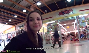 Mallcuties - reality legal age teenager drilled for raiment - public reality
