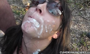 Hot cheating wife cum drenched and creampied by hundreds of males