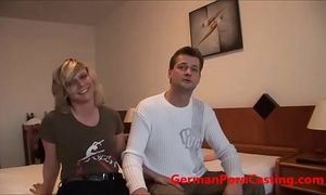 German dilettante receives screwed during porn casting - germanporncasting.com