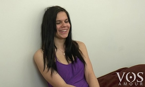 Cute vosamour BBC slut roxanna tells us what is in her fridge! behind the scenes