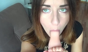 Baby shows tongue and lips